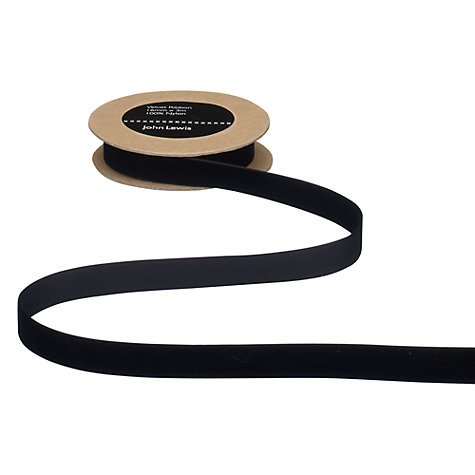 Buy John Lewis Velvet Ribbon Online at johnlewis.com