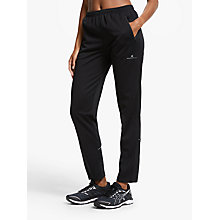 Buy Ronhill Trackster Evolution Bottoms, Black Online at johnlewis.com