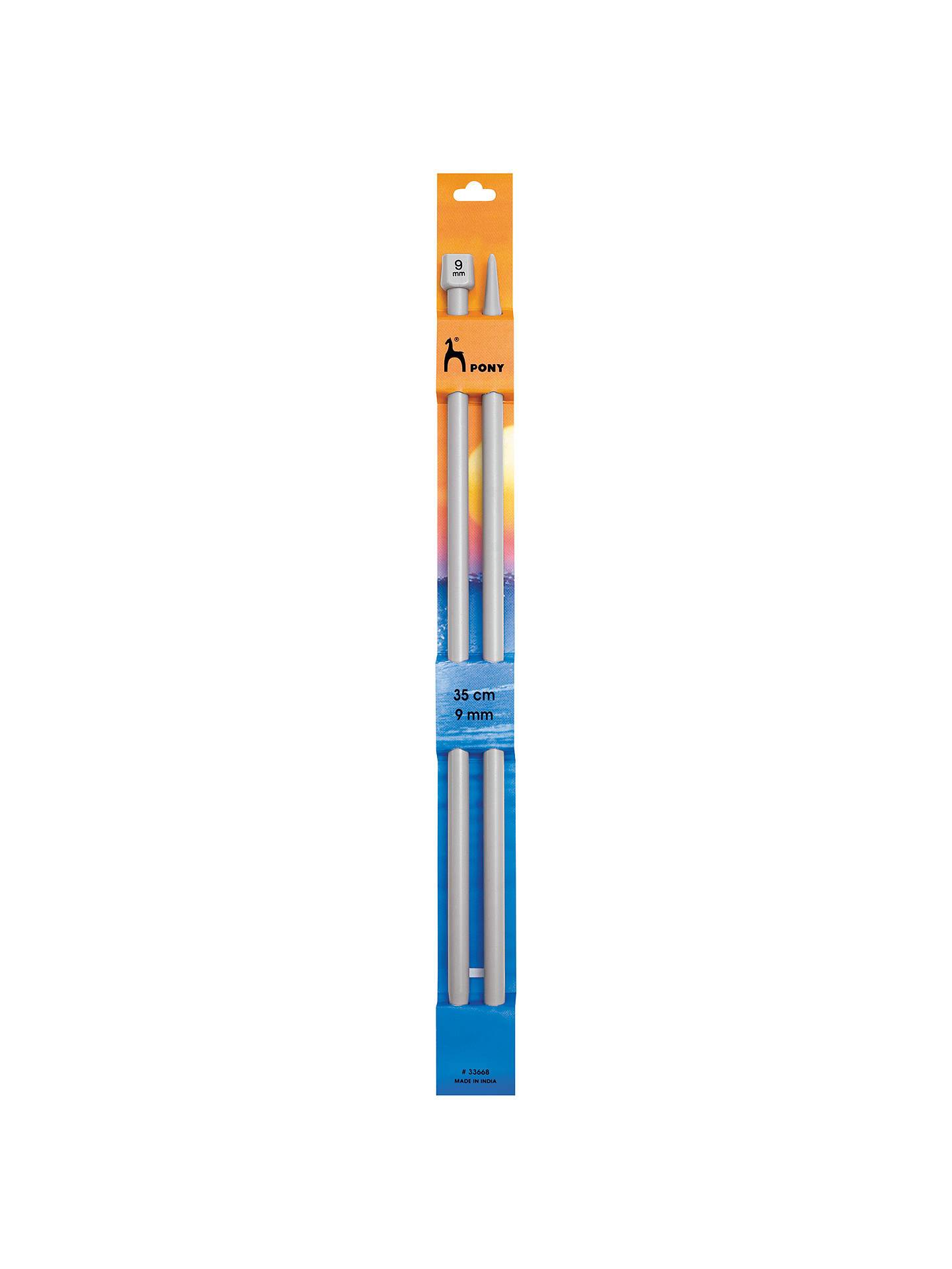 Buy Pony 35cm Knitting Needles, Pack of 2, 4mm, Grey Online at johnlewis.com