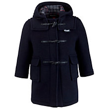 Buy Gloverall School Duffle Coat, Navy Online at johnlewis.com