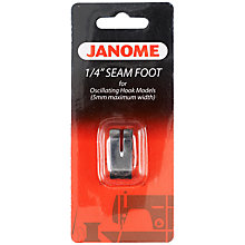 Buy Janome Sewing Machine Quarter Inch Seam Foot Online at johnlewis.com