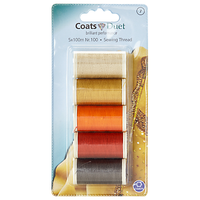 Product photo of Coats duet sewing thread nr 100 brown orange red