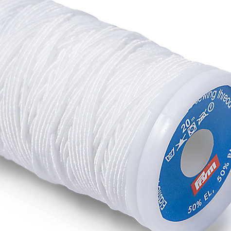 Buy Gold-Zack Elastic Sewing Thread, 20m Online at johnlewis.com