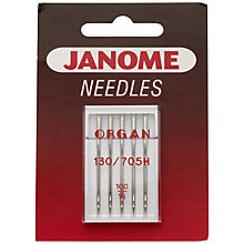 Buy Janome Standard Sewing Needles, Assorted, Pack of 5 Online at johnlewis.com