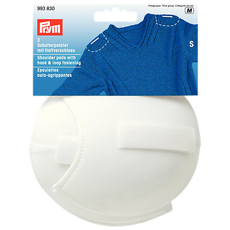 Buy Gold-Zack White Shoulder Pads Raglan With Hook And Loop, Small Online at johnlewis.com