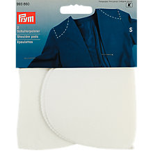 Buy Gold-Zack Set-In White Shoulder Pads, 1 Pair Online at johnlewis.com