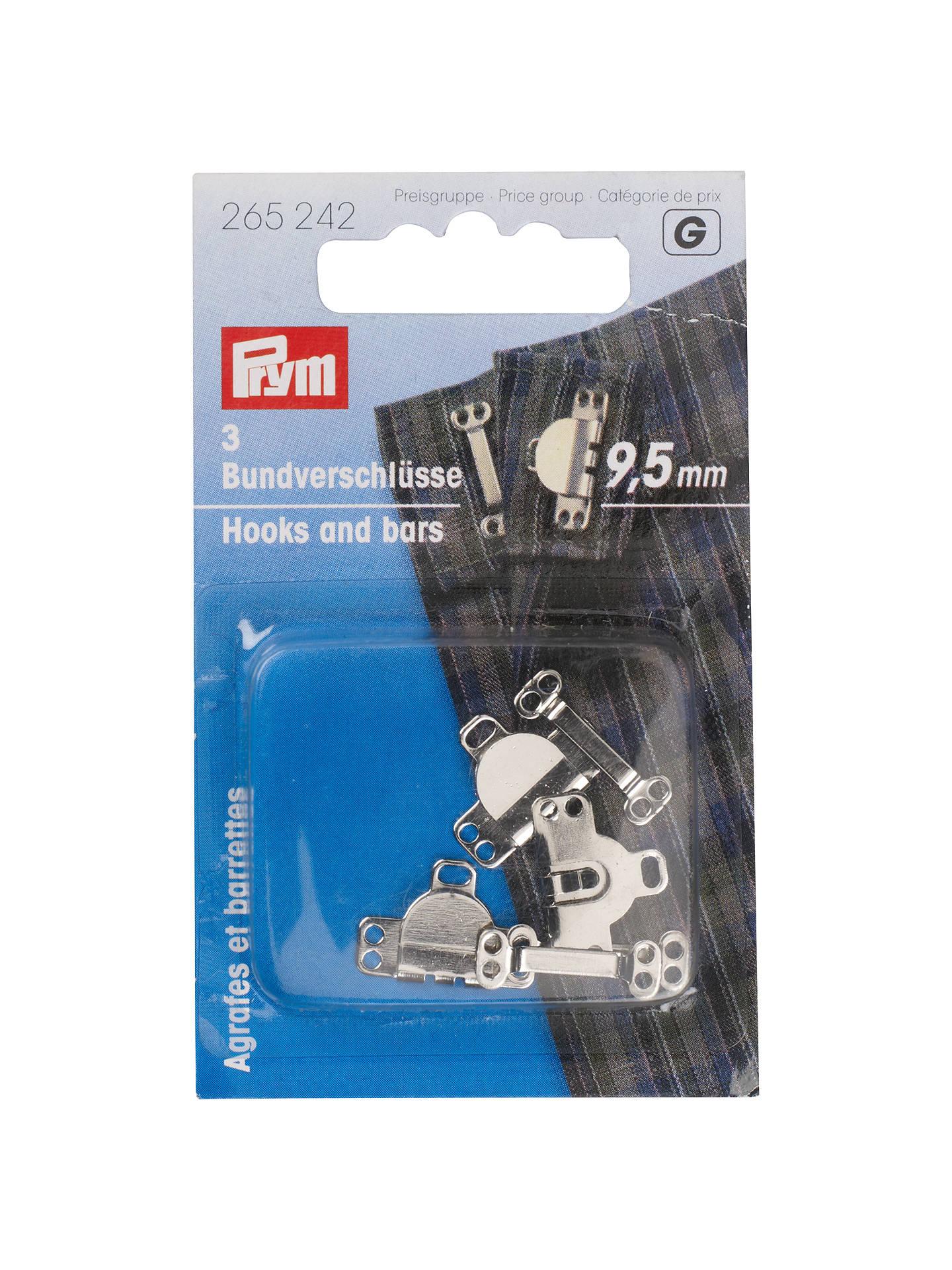 Prym Trouser Mini Hook & Bar, 9mm