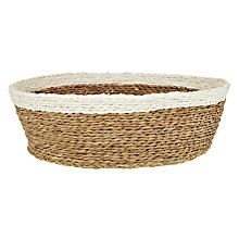 Buy Gone Rural Woven Grass Bread Basket Online at johnlewis.com