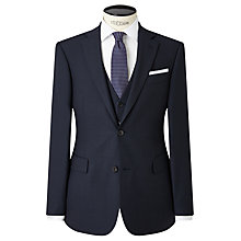 Buy John Lewis Regular Fit Birdseye Suit Jacket, Navy Online at johnlewis.com