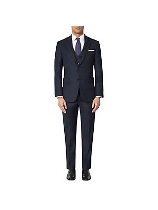 Shop the Look - Navy Birdseye Suit