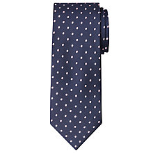 Buy John Lewis Navy Base Spot Tie Online at johnlewis.com