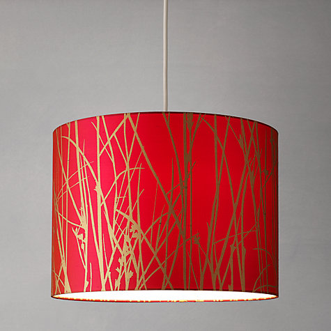 Buy John Lewis Woodland Drum Shade Online at johnlewis.com
