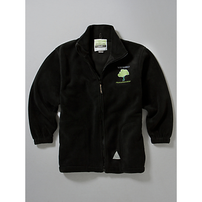 Product photo of Whitefield school an academy embroidered fleece black