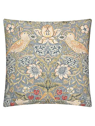 Morris & Co. Strawberry Thief Cushion