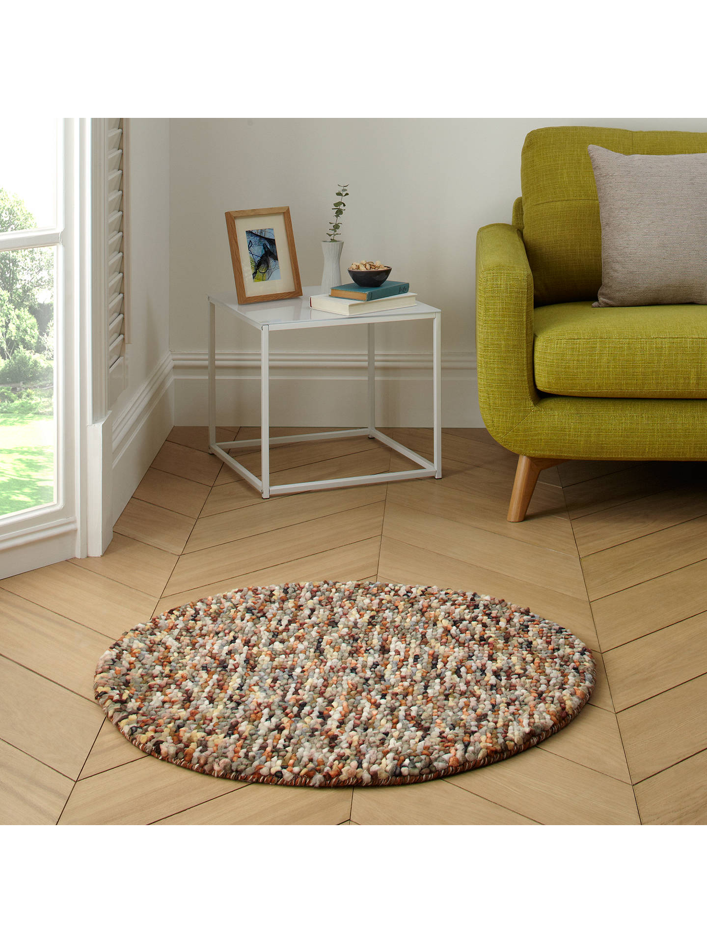 John Lewis Jelly Beans Round Rug At