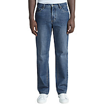 Buy John Lewis Stretch Ringspun Bootleg Denim Jeans Online at johnlewis.com