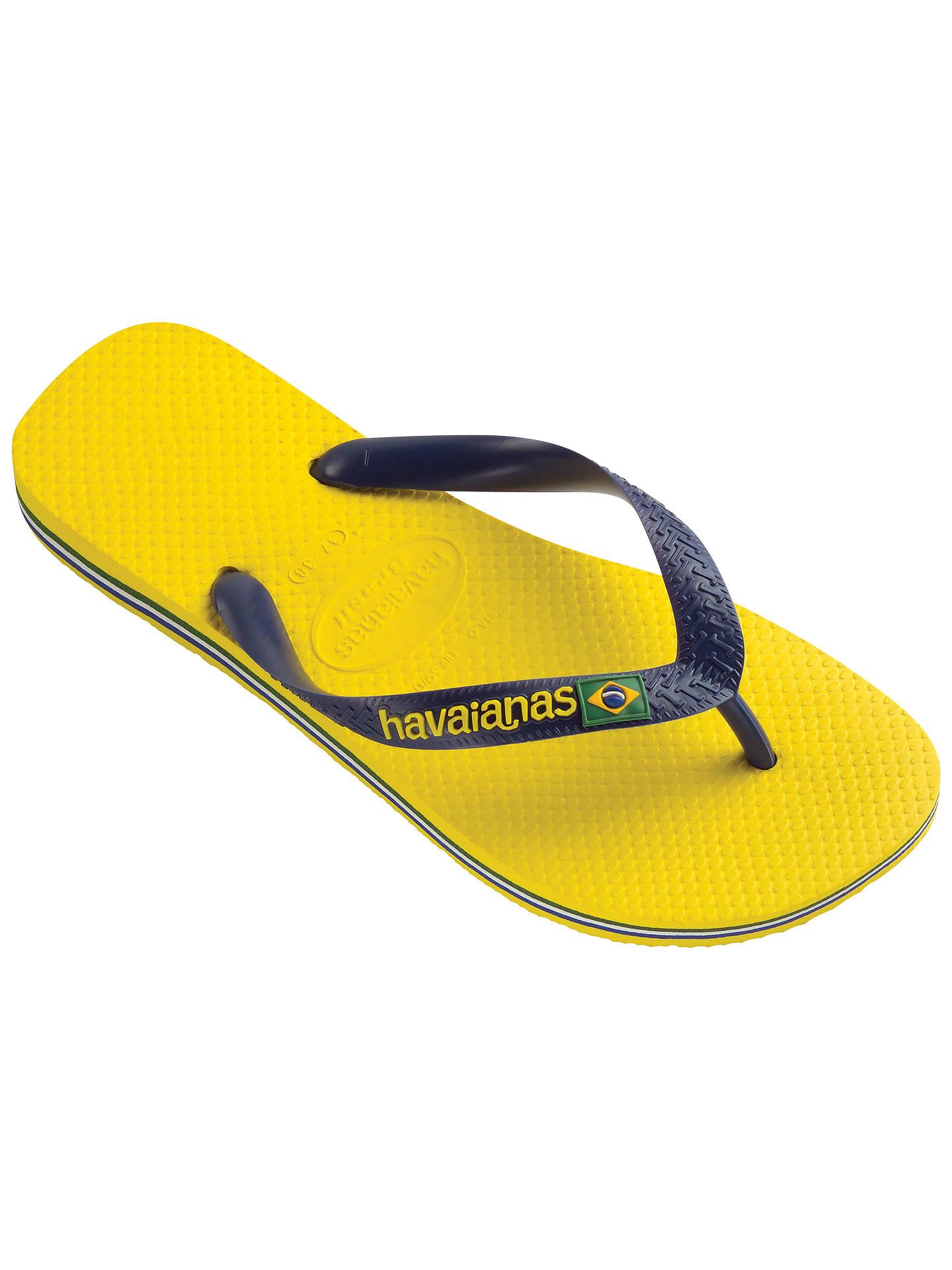 218fb7af1c20 Havaianas Brasil Logo Flip Flops at John Lewis   Partners