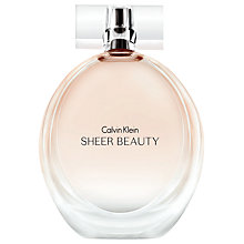 Buy Calvin Klein Sheer Beauty Eau de Toilette Online at johnlewis.com