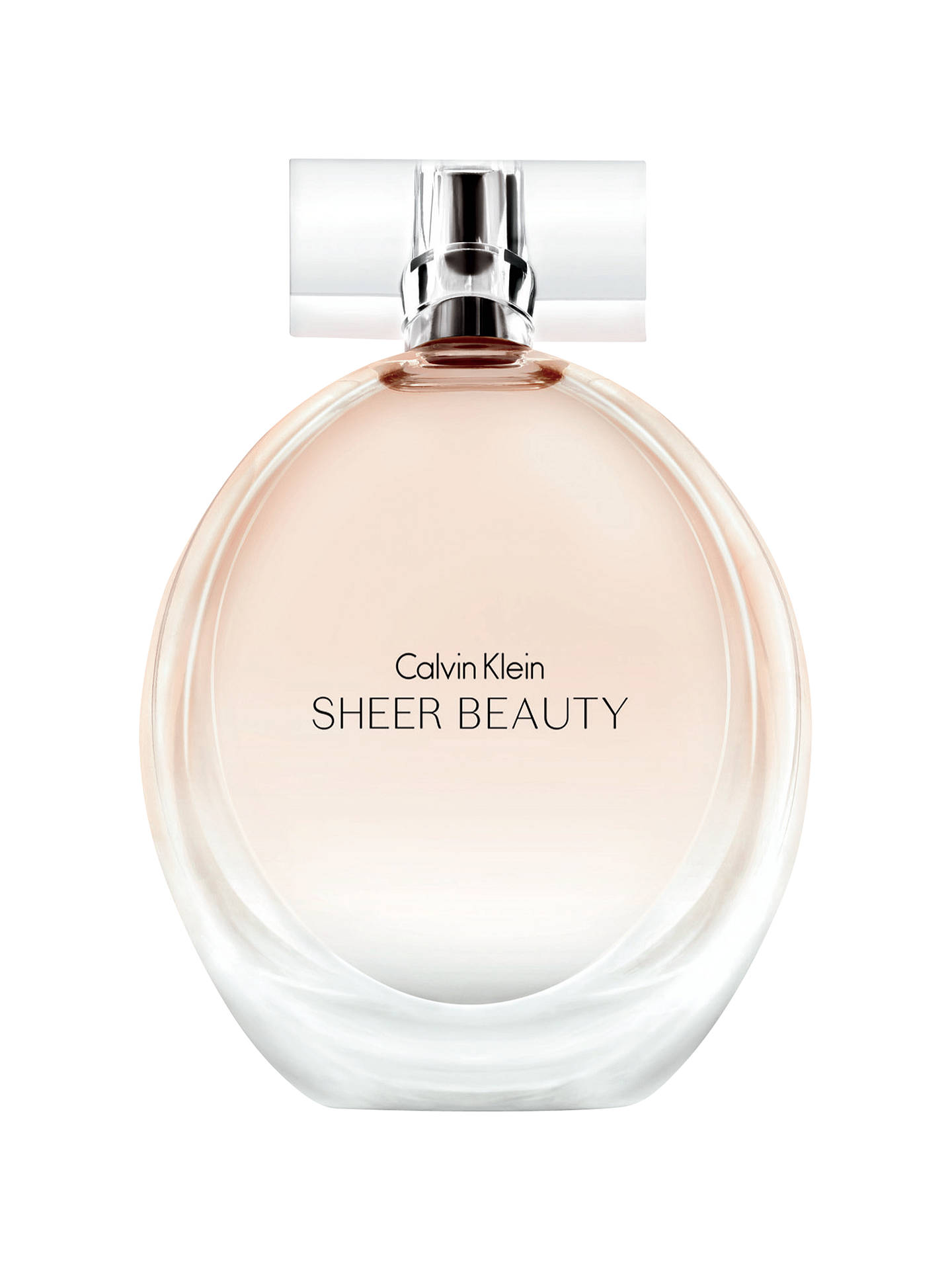 Buy Calvin Klein Sheer Beauty Eau de Toilette, 100ml Online at johnlewis.com