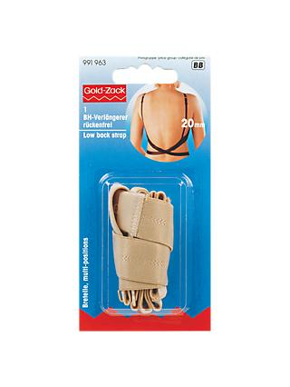 Prym Low Back Bra Strap, Nude