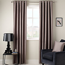 ... Buy John Lewis Faux Silk Blackout Lined Eyelet Curtains Online At  Johnlewis.com
