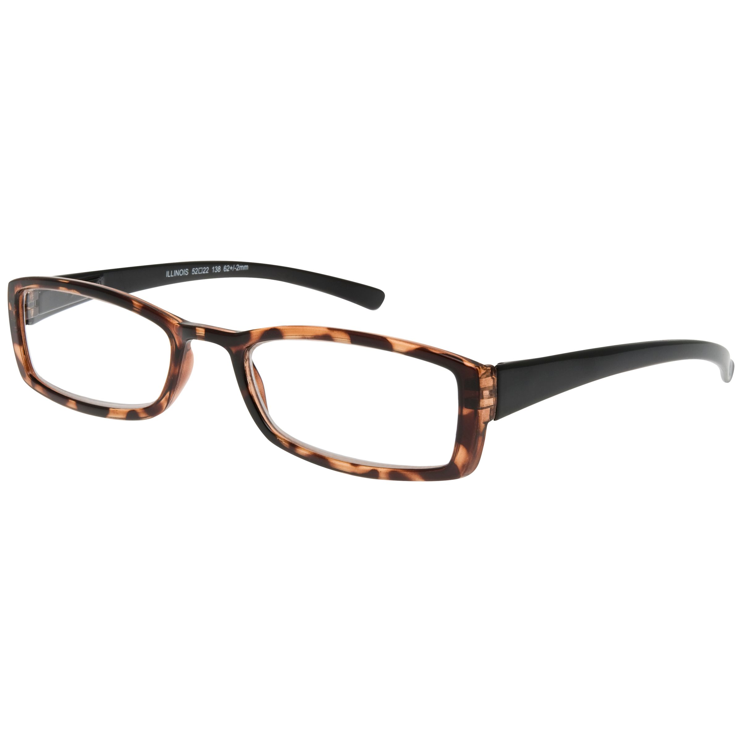 Magnif Eyes Magnif Eyes Unisex Ready Readers Illinois Glasses, Shell