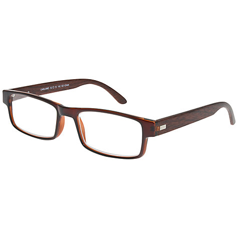 Buy Magnif Eyes Oakland Unisex Ready Readers Oakland Glasses, Red Online at johnlewis.com