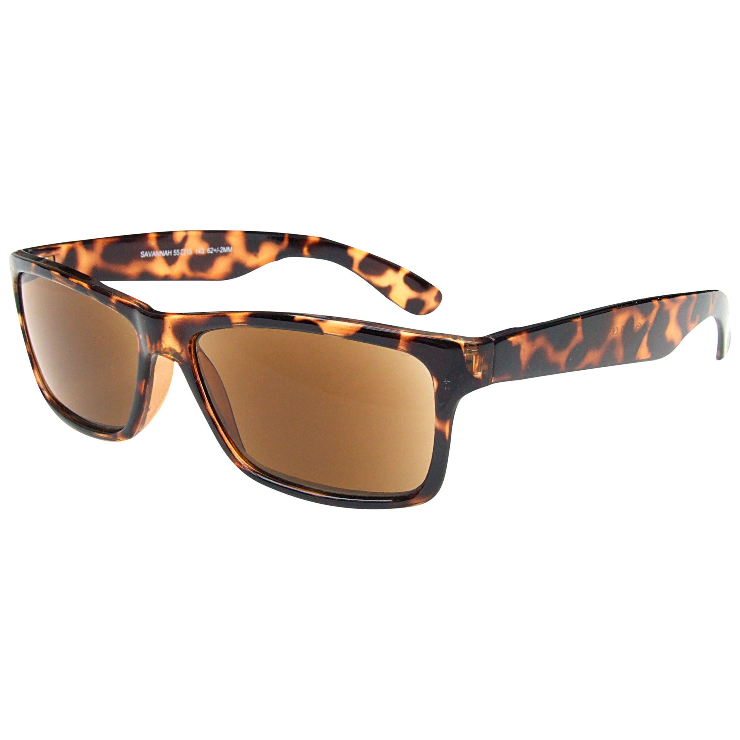 Magnif Eyes Magnif Eyes Savannah Unisex Ready Reader Sunglasses, Shell