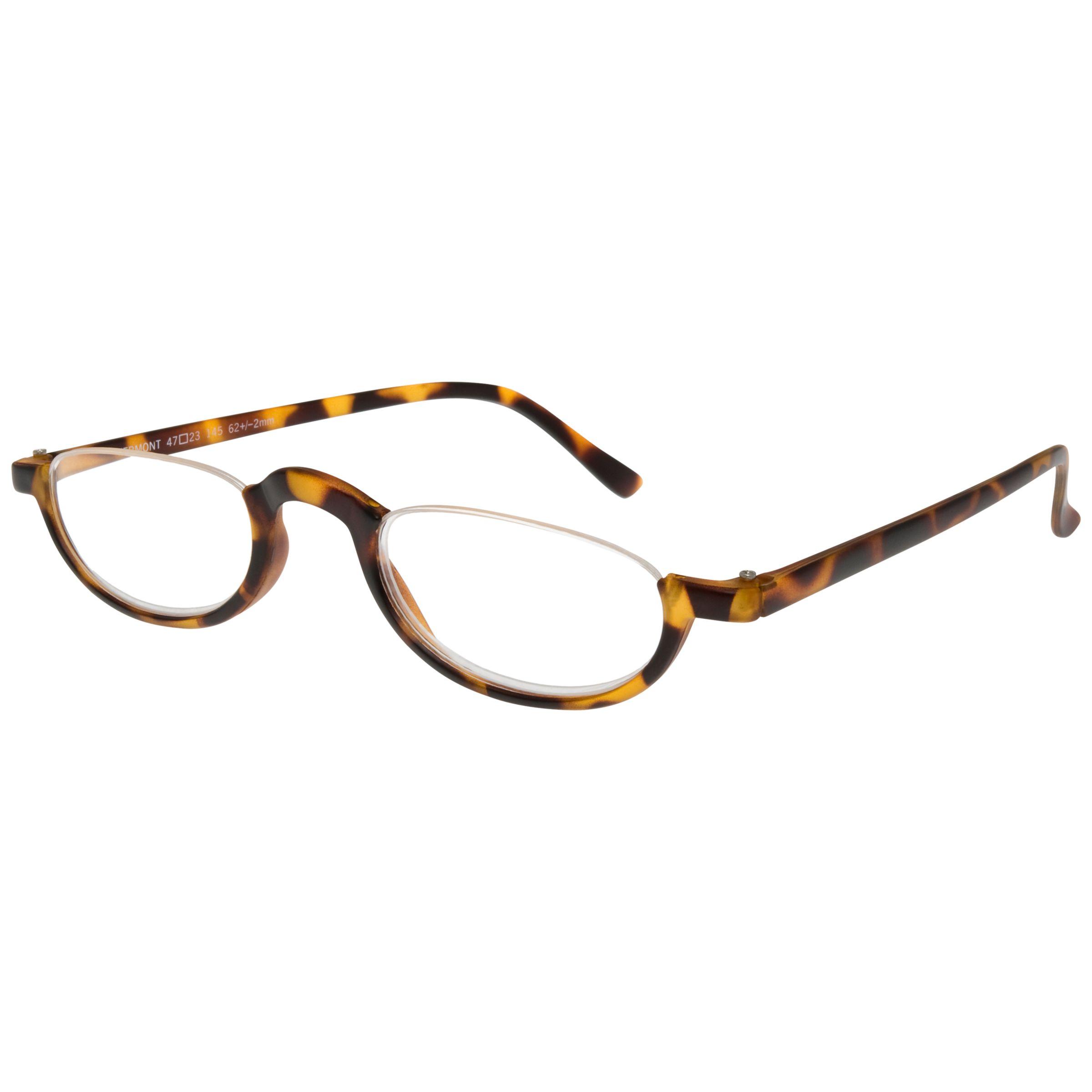 Half Frame Tortoise Shell Reading Glasses : Buy Magnif Eyes Vermont Unisex Ready Reader Glasses, Shell ...