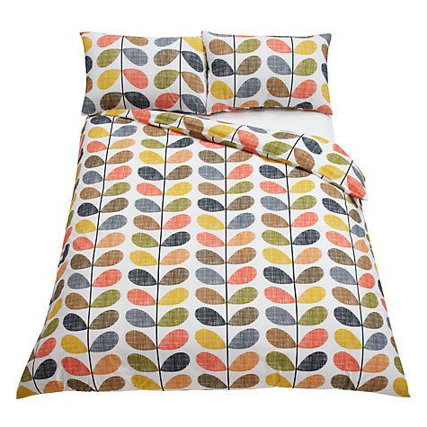 Buy Orla Kiely Scribble Stem Cotton Bedding Online at johnlewis.com