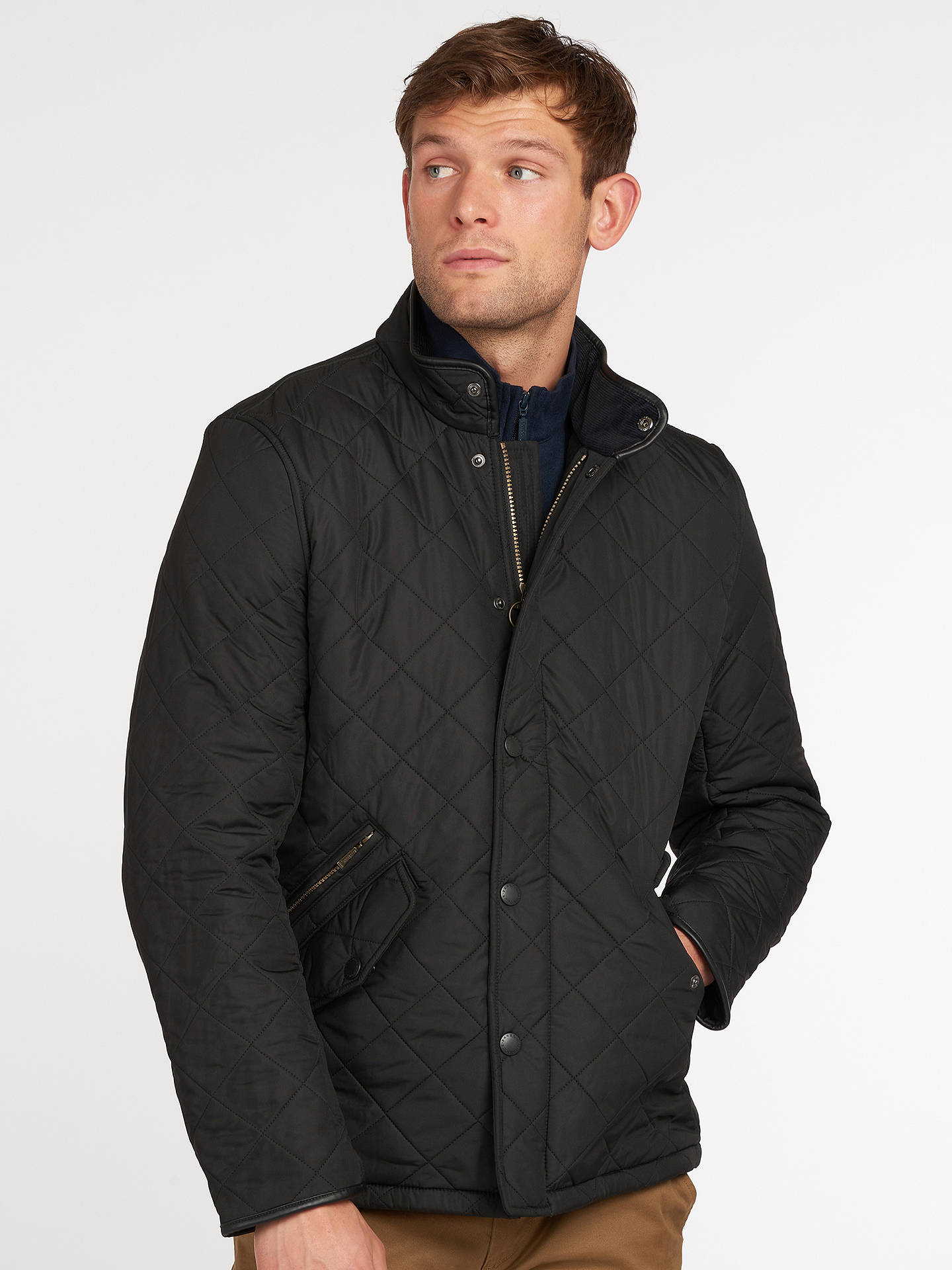 04abceea8176 Barbour Lifestyle Powell Quilted Jacket at John Lewis   Partners