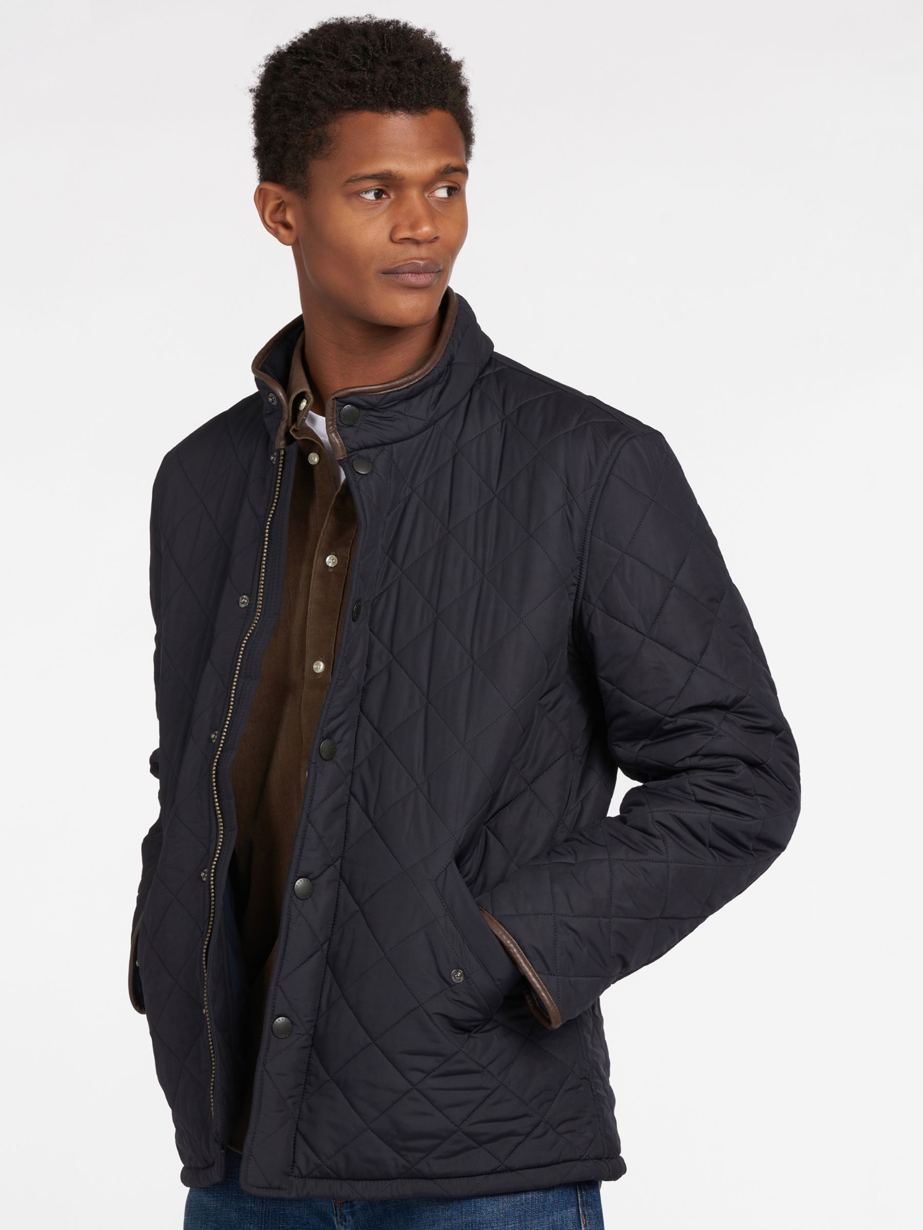 barbour lifestyle powell quilted jacket