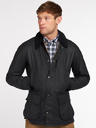 Barbour Lifestyle Ashby Waxed Field Jacket, Navy