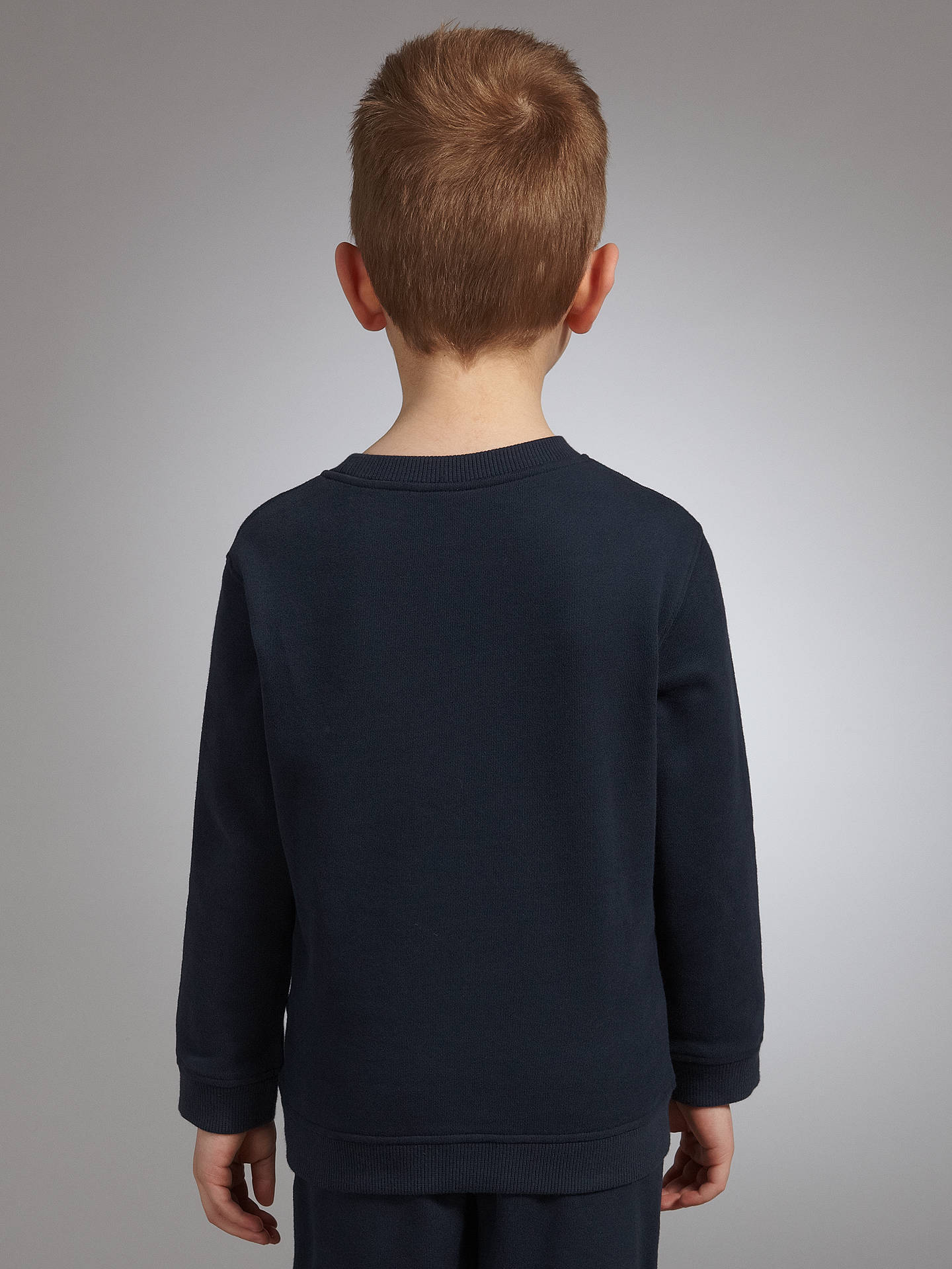Buy John Lewis & Partners School Sweatshirt, Navy, Chest 38 Online at johnlewis.com