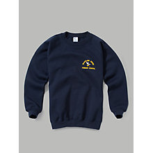 Buy Blacklow Brow Primary School Unisex Sweatshirt, Navy Online at johnlewis.com