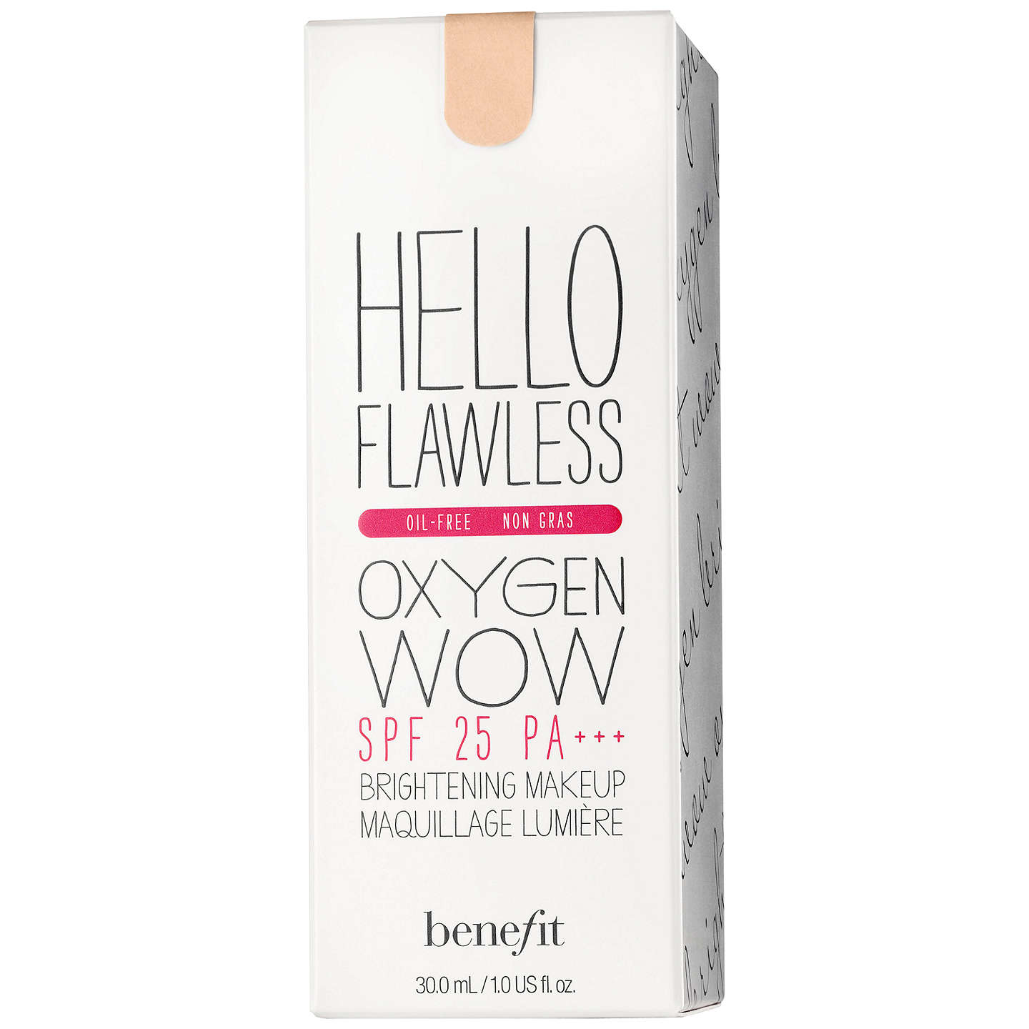 BuyBenefit Hello Flawless Oxygen Wow SPF25 PA+++, Toasted Beige (Warm Me) Online at johnlewis.com