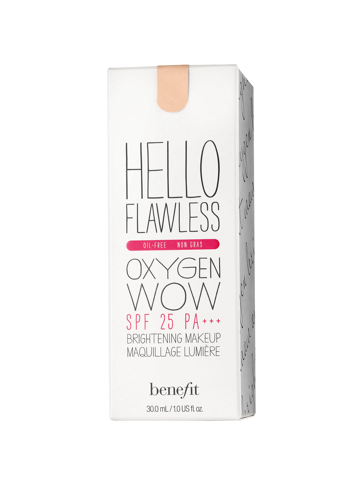 BuyBenefit Hello Flawless Oxygen Wow SPF25 PA+++, Amber (I'm So Glamber) Online at johnlewis.com