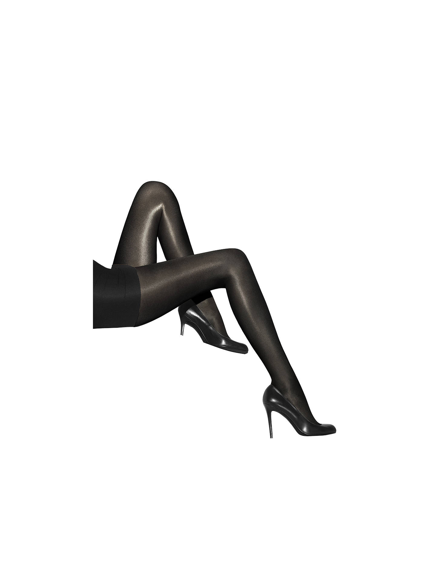 e370a8c860c72 Buy Wolford Neon 40 Denier Opaque Tights, Black, S Online at johnlewis.com  ...