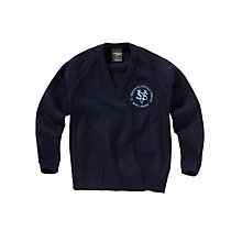 Buy St Vincent's Catholic Primary School Unisex Pullover, Navy Online at johnlewis.com