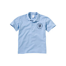 Buy St Vincent's Catholic Primary School Unisex Polo Shirt, Blue Online at johnlewis.com