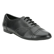 Buy Clarks Erica Lace Shoes, Black Online at johnlewis.com