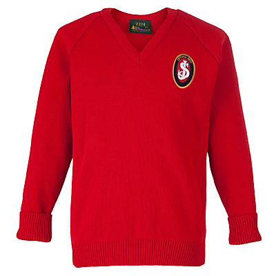 St Joseph's College Prep School Pullover, Red