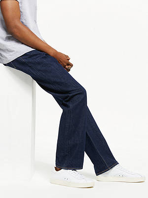 BuyLevi's 501 Original Straight Jeans, One Wash, 30R Online at johnlewis.com