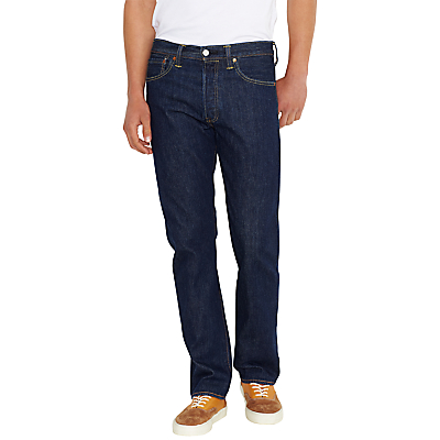 Levis 501 Original Straight Jeans One Wash