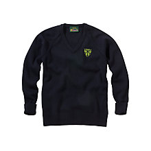 Buy Prior Park Prep School Pullover, Navy Online at johnlewis.com