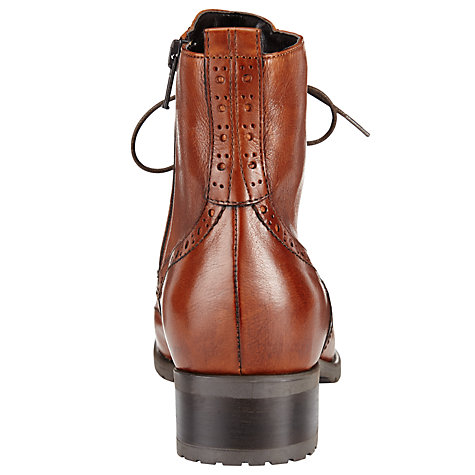 Buy John Lewis Cambridge Leather Zip Up Ankle Boots Online at johnlewis.com