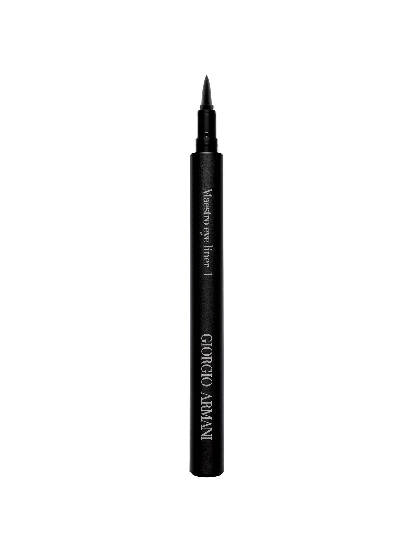 Buy Giorgio Armani Maestro Eye Liner, 01 Online at johnlewis.com