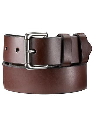 Polo Ralph Lauren Leather Roller Buckle Belt