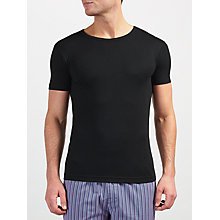 Buy John Lewis Short Sleeve Thermal T-Shirt, Black Online at johnlewis.com