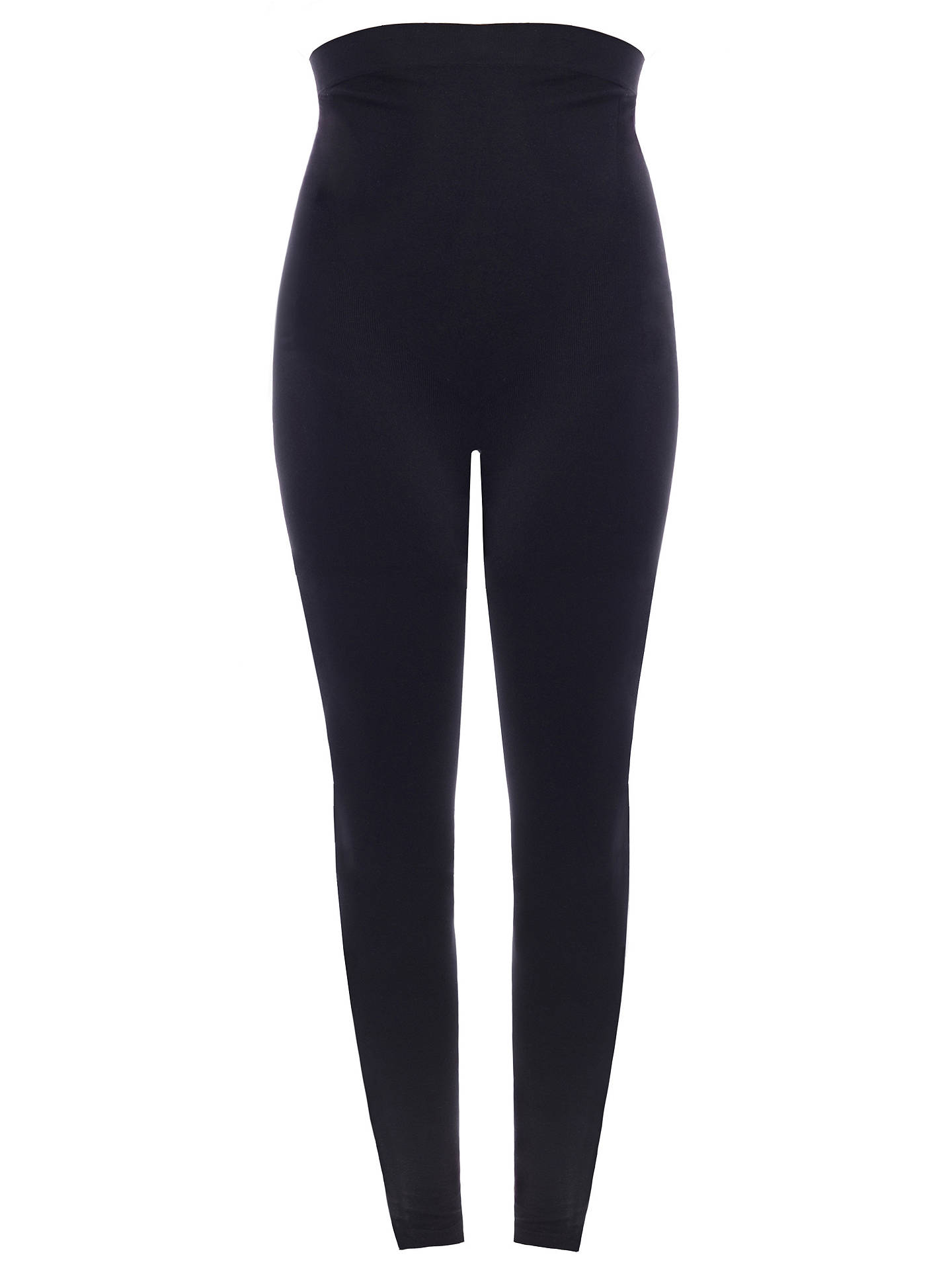 Buy Séraphine Holi Over-Bump Maternity Leggings, Black, S/M Online at johnlewis.com